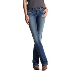 Women's R.E.A.L. Mid Rise Entwined Boot Cut Jeans