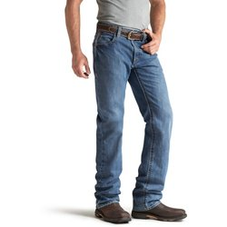 Men's FR M3 Loose Basic Stackable Straight Leg Jeans