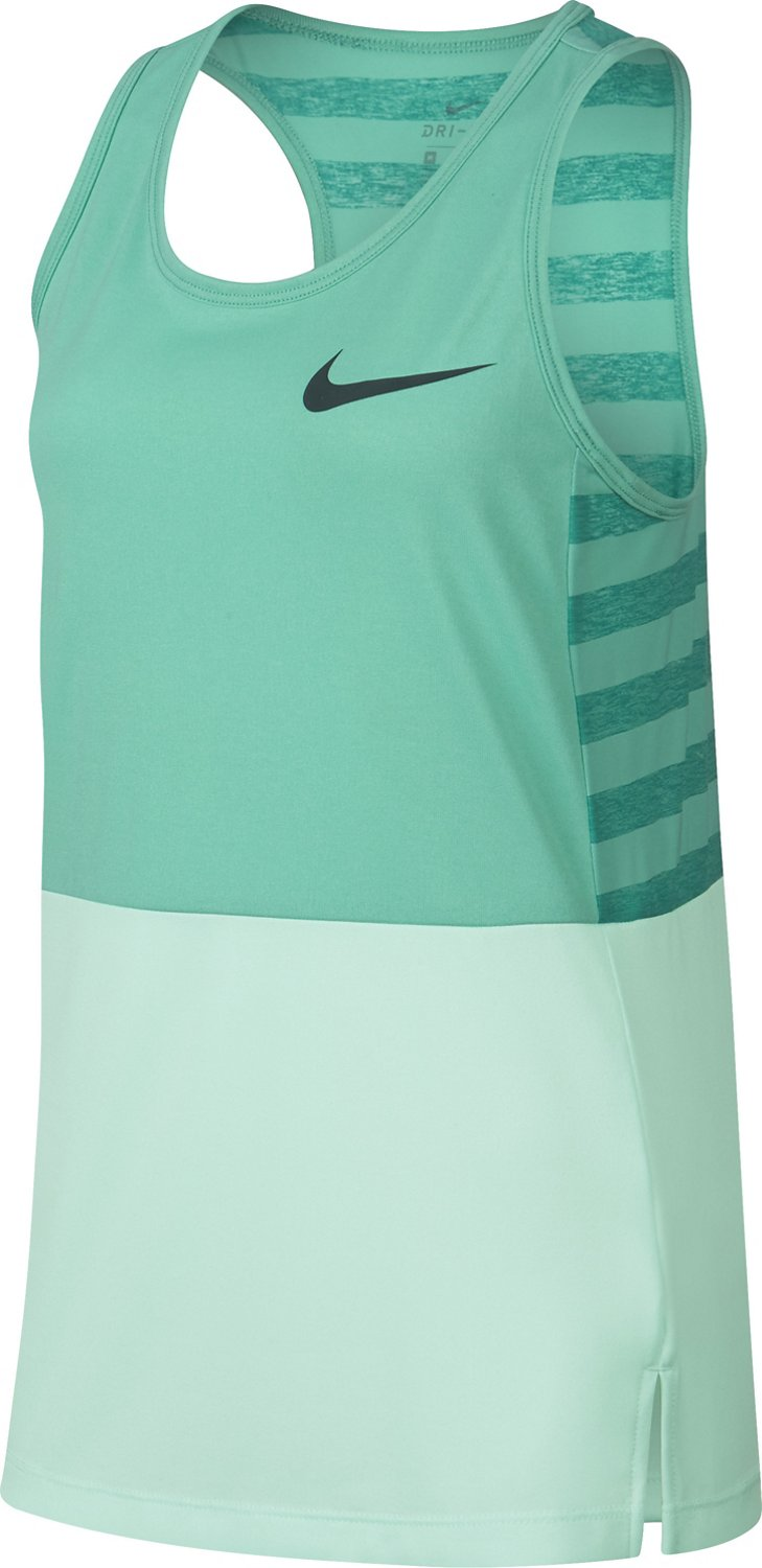Display product reviews for Nike Girls' Dry Training Tank Top