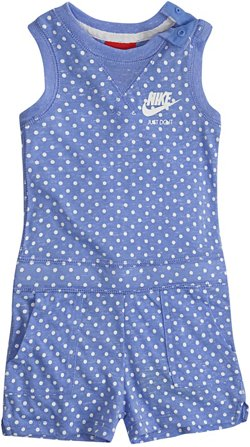 Nike Girls' 4-7 Gym Vintage AOP Romper
