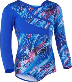 Capezio Girls' Future Star Long Sleeve Asymmetrical Leotard