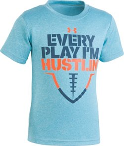 Under Armour Toddler Boys' Every Play I'm Hustlin' T-shirt