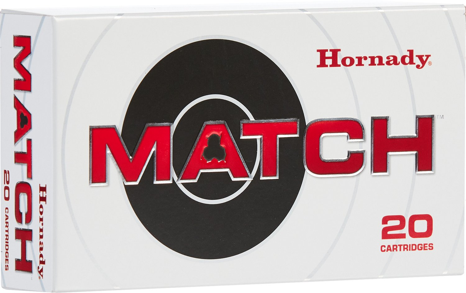 Hornady ELD Match 6mm Creedmoor 108-Grain Rifle Ammunition