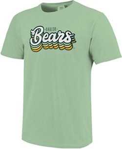 Image One Women's Baylor University Retro Stack Script Comfort Color T-shirt
