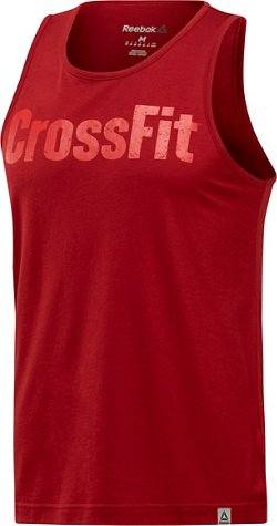 Men's CrossFit Logo Tank Top