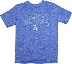 Stitches Boys' Kansas City Royals Space Dyed T-shirt