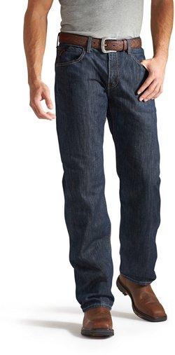 Ariat Men's FR M3 Loose Basic Stackable Straight Leg Jeans
