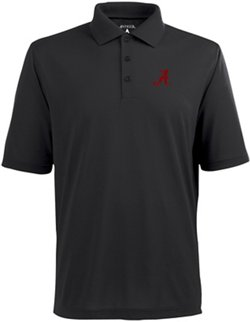 Antigua Men's University of Alabama Piqué Xtra-Lite Polo
