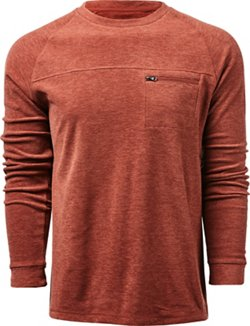 Magellan Outdoors Men's Woodlake Fleece Long Sleeve T-shirt