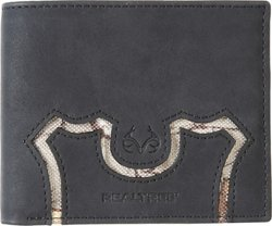 Realtree Men's Stitched Passcase Wallet