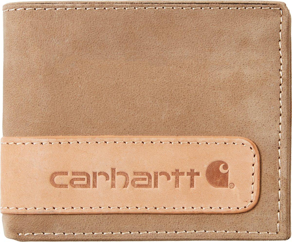 Carhartt Men's 2-Tone Billfold Wallet with Wing