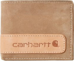 Carhartt Men's 2-Tone Billfold Wallet with Wing