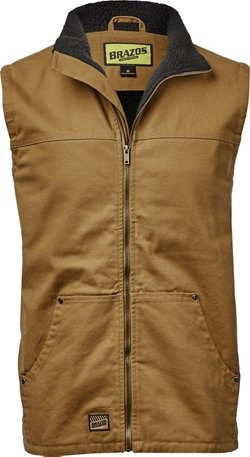 Brazos Men's Gate Keeper Full Zip Vest