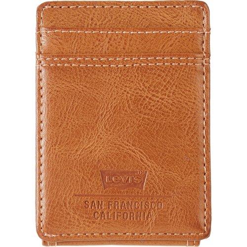 Levi's Men's RFID Magnetic Front Pocket Wallet