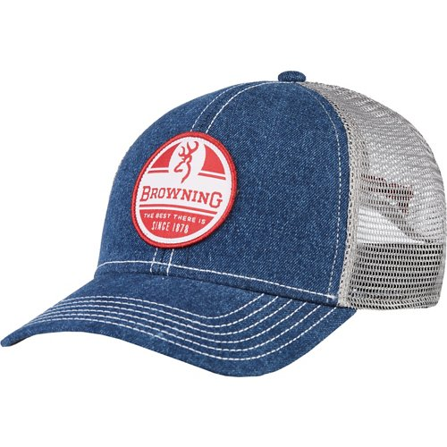 Browning Men's Patriotic Trucker Cap