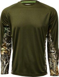 Magellan Outdoors Men's Hunt Gear Knit Camo Shirt