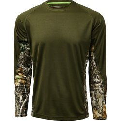 Men's Hunt Gear Knit Camo Shirt