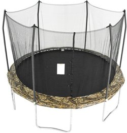 Skywalker Trampolines 12' Round Camo Trampoline with Enclosure