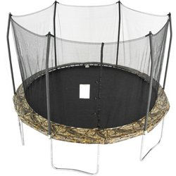 12' Round Camo Trampoline with Enclosure