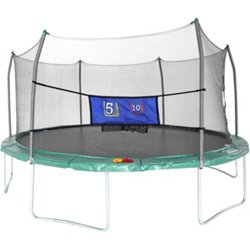 16' Oval Trampoline with Enclosure