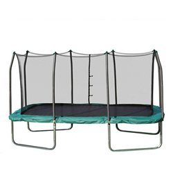 14' Rectangle Trampoline with Enclosure