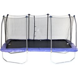 15' Rectangular Trampoline with Enclosure