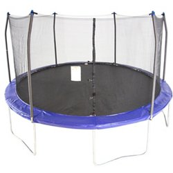 15' Round Trampoline with Safety Enclosure
