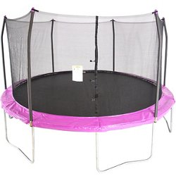 15 ft Round Trampoline with Enclosure