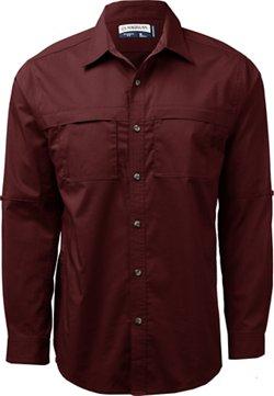 Magellan Outdoors Men's Backpacker Trail Long Sleeve Shirt