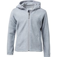 Magellan Outdoors Girls' Arctic Fleece Full Zip Hooded Jacket