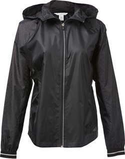 Women's Run Reflective Mesh Pieced Jacket