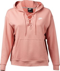 Nike Women's Sportswear Lace-Up Hoodie
