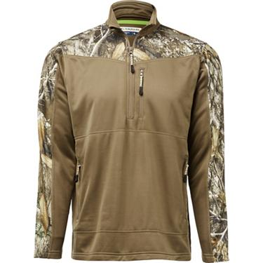 818e56b25de8d ... Magellan Outdoors Men's Hunt Gear 1/2 Zip Camo Shirt. Men's Shirts.  Hover/Click to enlarge