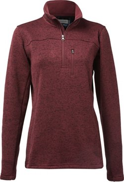 Magellan Outdoors Women's Hickory Canyon 1/4 Zip Pullover