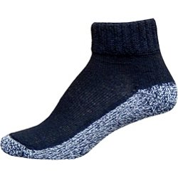 Diabetic Care Adults' Nonbinding Quarter Socks