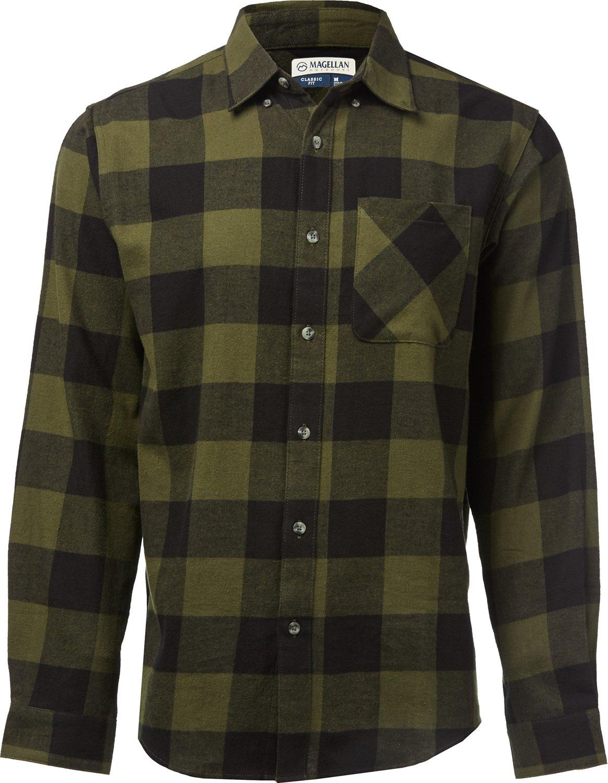 0a56900059 Magellan Outdoors Canyon Creek Long Sleeve Flannel Shirt | Academy