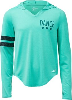 BCG Girls' Graphic Training Pullover Hoodie