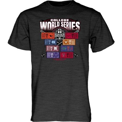 Blue 84 Men's College World Series 2018 Ticket T-Shirt