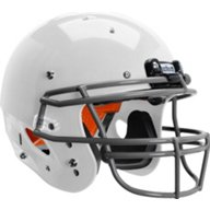 Schutt Youth Recruit Hybrid Football Helmet with DNA ROPO Mask