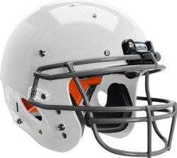 Youth Recruit Hybrid Football Helmet with DNA ROPO Mask