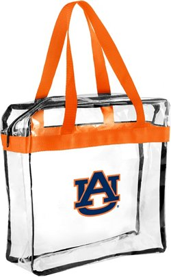 Forever Collectibles Auburn University Clear Messenger Bag