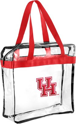 Forever Collectibles University of Houston Clear Messenger Bag