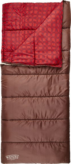 Wenzel Sundance Tribute 30 degrees F Plaid Sleeping Bag