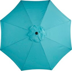 9' Round Steel Market Umbrella