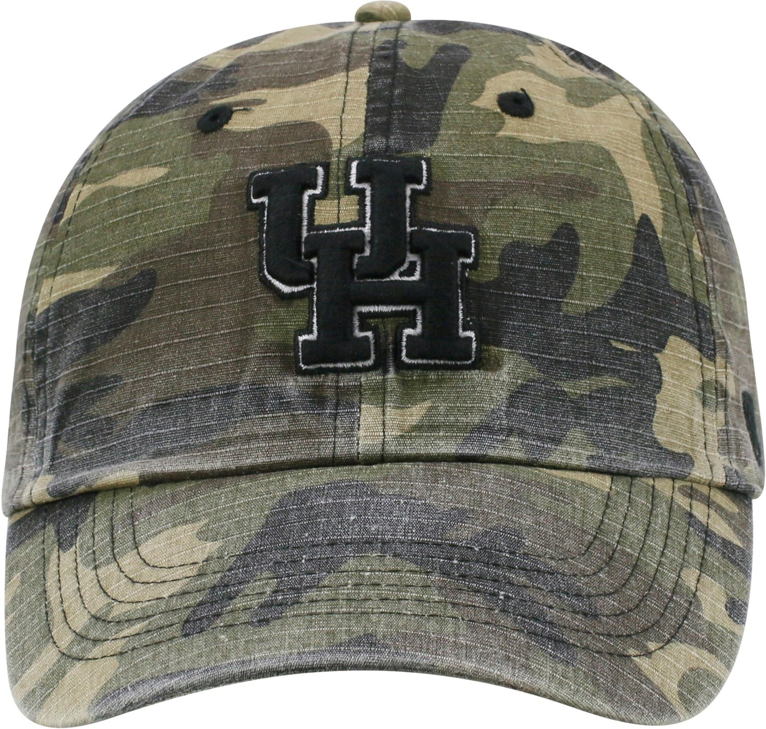lowest price 2a19f 8cd4f Top of the World Men s University of Houston Heroes Camo Ball Cap   Academy