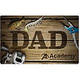 Academy Father's Day Fishing Gift Card