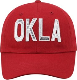 Top of the World Women's University of Oklahoma Glow District Ball Cap