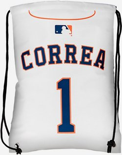 Forever Collectibles Houston Astros Carlos Correa 1 Drawstring Backpack