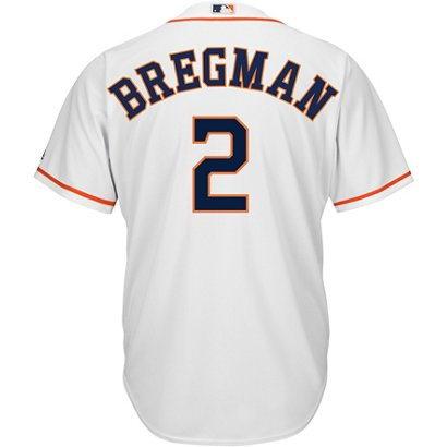87d1b9608 ... Majestic Houston Astros Bregman 2 Authentic Collection Cool Base  Replica Jersey. Astros Clothing. Hover Click to enlarge