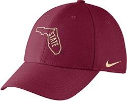 Nike Men's Florida State University Dri-FIT Wool Classic99 Swoosh Flex Cap